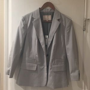 Banana Republic Suit Jacket in grey